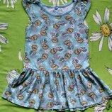 Платье c Эльзой от Disney для девочки 4-5 лет