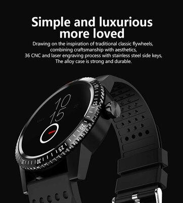 Смарт-Часы Colmi CT1 с Bluetooth/пульсометром. Гарантия 12 месяцев