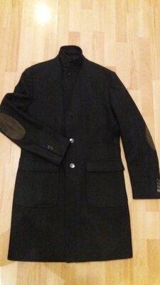 Шикарне пальто з чистої шерсті італія daniele alessanrini