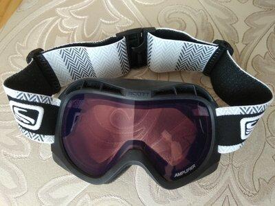 Лыжная маска , очки горнолыжные Scott