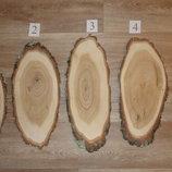 Спил дерева дуб 39 - 46 см по номерам