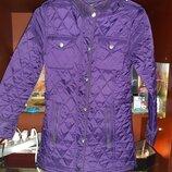 Демисезонная стёганая куртка для девочки подростка