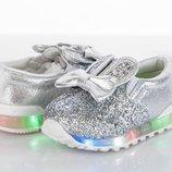 Слипоны кроссовки с подсветкой
