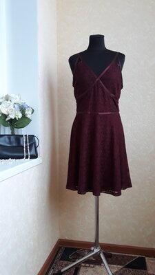 Эффектное платье new look 12-14 размер