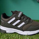 Детские кроссовки адидас Adidas Eqipment хаки 31 - 35