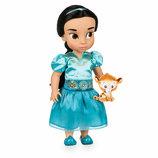 Кукла Малышка Animators от Disney Жасмин с питомцем аниматорс дисней