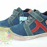 Ботинки демисезонные натуральная кожа. tom.m, biki, bi&ki размеры 26-31