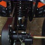 Бензиновый квадроцикл ATV-008 125 см³. До 110 кг. Польша. Л.