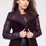 Модное женское полупальто 8830 бренда X-Woyz Размеры 42- 48
