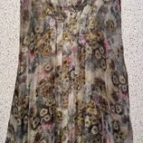 Шикарное шелковое платье от бренда Luisa Cerano.Оригинал