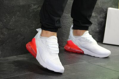 Кроссовки мужские Nike Air Max 270 white/red