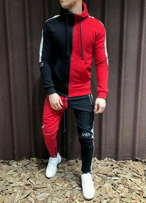 Мужской стильный спортивный костюм двухнить 1181 PRM в расцветках.