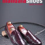 Mandala, Испания 39р венецианские туфли лоферы кожаные бу