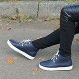 Весенние ботинки, натур.кожа