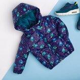 Курточка для мальчика с принтом демисезонная