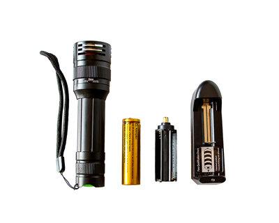 Ручной светодиодный фонарь для туристических походов/1 режим/светодиод Cree T6