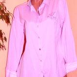MILANO Италия . Шикарная розовая рубашка - XL - XXL