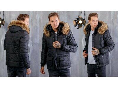 Мужская куртка на синтепоне мод.1148