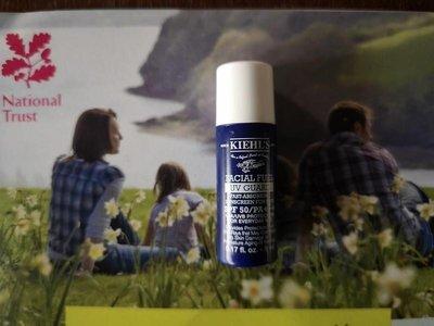 Kiehl's ежедневный солнцезащитный крем для мужчин, 5 мл.