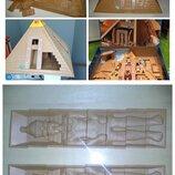 Игрушки конструктор Фрагменты конструктора Playmobil Египетская пирамида