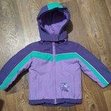 р.92-98, яркая термо-куртка, отличная