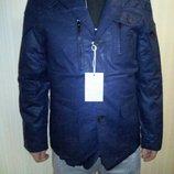 Пиджак куртка ветровка мужская стильная синяя