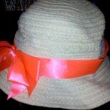 Красивенная пляжная шляпка р.50