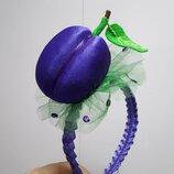 Слива фиолетовая на обруче