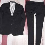 Черный мужской классический костюм Bytom
