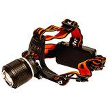 Налобный фонарь Police/эластичное крепление/для активного отдыха/велосипедный инвертарь