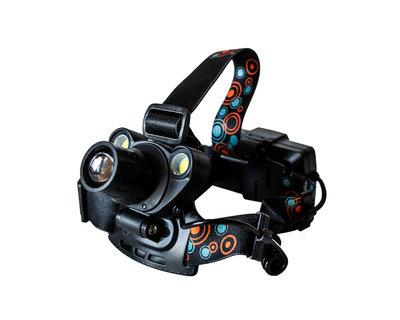 Налобный фонарь/4 режима/2 led диодов/1 CREE T6/световой поток 1800 Лм