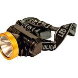 Налобный фонарь для активного отдыха/2 режима/яркое свечение/на 80 метров/300 Лм