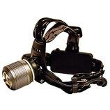Налобный фонарь для любителей ночной охоты и рыбалки/4 режима/на 500 метров/зум фокусировка луча