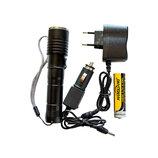 Ручной фонарь для активного отдыха/3 режима/Cree T6/на 2000 метров/фонарик на 18000 Лм