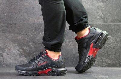 Кроссовки мужские Nike Air Max TN синий с красным