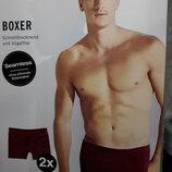 Трусы боксеры бесшовные, 2 в комплекте, Modal, L6, Германия