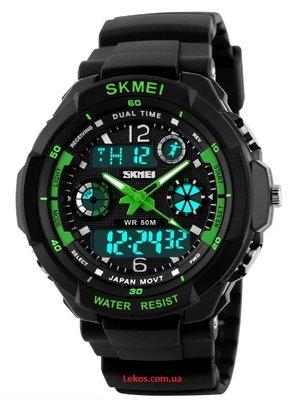 Мужские наручные часы Skmei противоударные и водонепроницаемые.