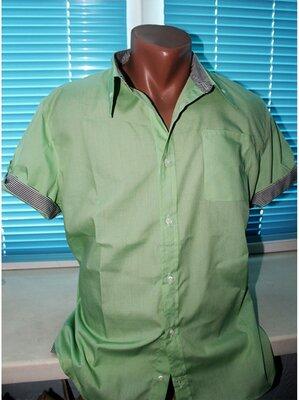 Рубашка с коротким рукавом разные цвета