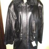 р М кожа натуральная новая куртка Vero Pelle Made in Italy