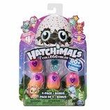 Hatchimals S4 Набор 4 коллекционные фигурки в яйцах и бонусная фигурка CollEGGtibles 4-Pack Bonus