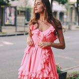 Красивое платье 42 - 44 четыре расцветки