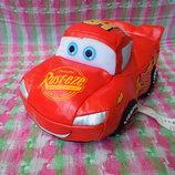 Машинка маленькая мягкая из мультфильма Тачки
