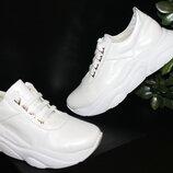 Крутые кроссовки, кожа натуральная, 36-41р