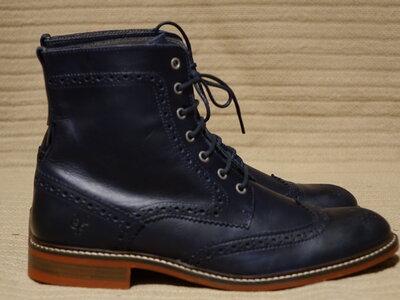 Очень красивые высокие брогированные кожаные ботинки Marc O Polo Германия 41 р.