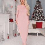 Розовое платье Тм В&Н из травки