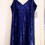 Шикарное платье сукня блестящее вечернее коктельное праздничное Reserve новое Размер 36/S