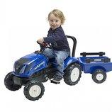 Детский трактор на педалях Falk New Holland 3080AB