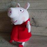 Пеппа пиг свинка костюм Красная шапочка Peppa Pig 28 см
