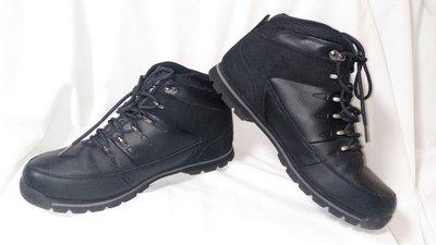 Ботинки мужские демисезонные кожаные черные Firetrap Rhino Boots размер 44