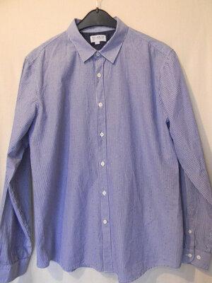 Муж.рубашка Pull and Bear р.XL 42 ,хлопок 100%